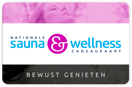 Nationale sauna & wellness cadeaukaart 50 euro