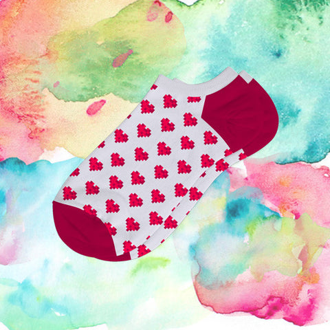 Django Girls Hearts Socks