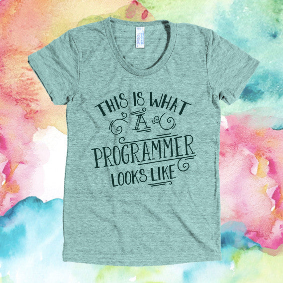 "Fitted ""This is What a Programmer Looks Like"""