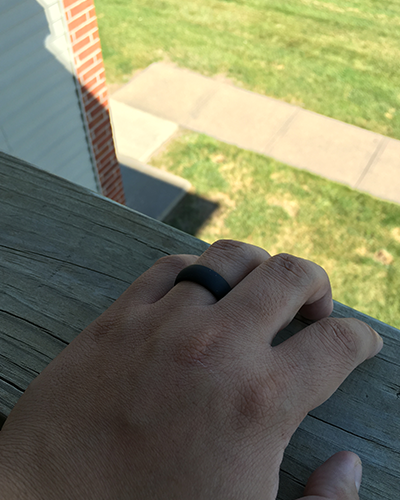 ring suited for the outdoors
