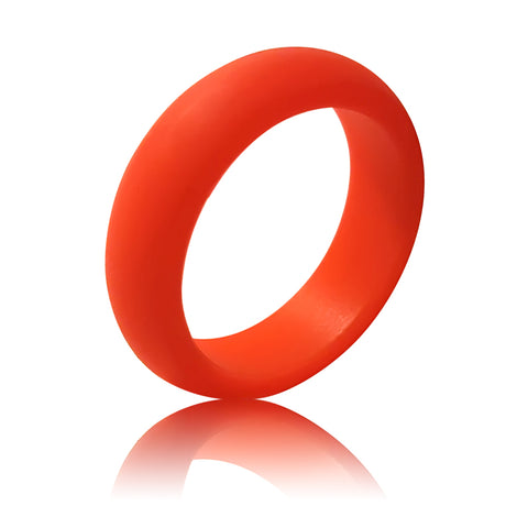 Women's Silicone Ring (5.5MM) - Red