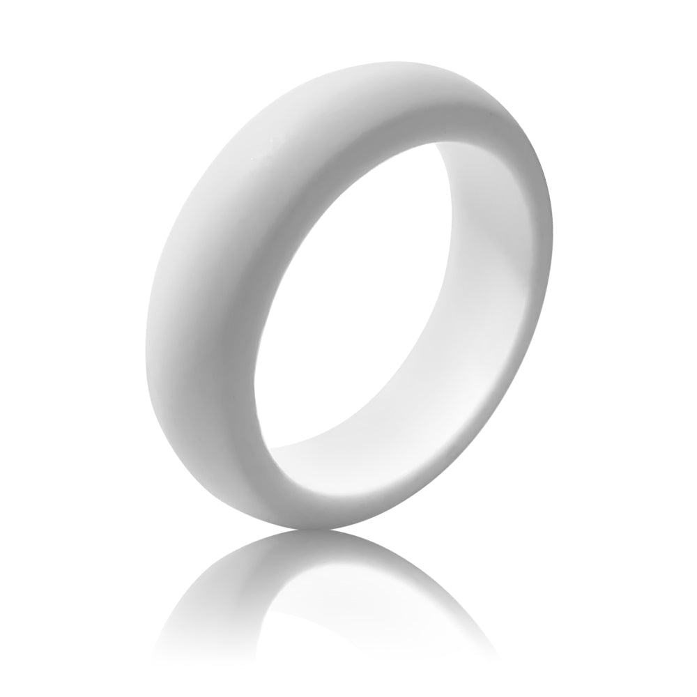 Women's Silicone Ring (5.5MM) - White