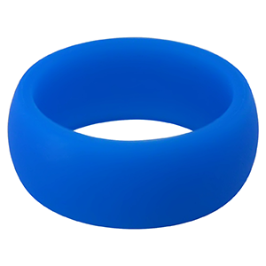 Blue Silicone Ring