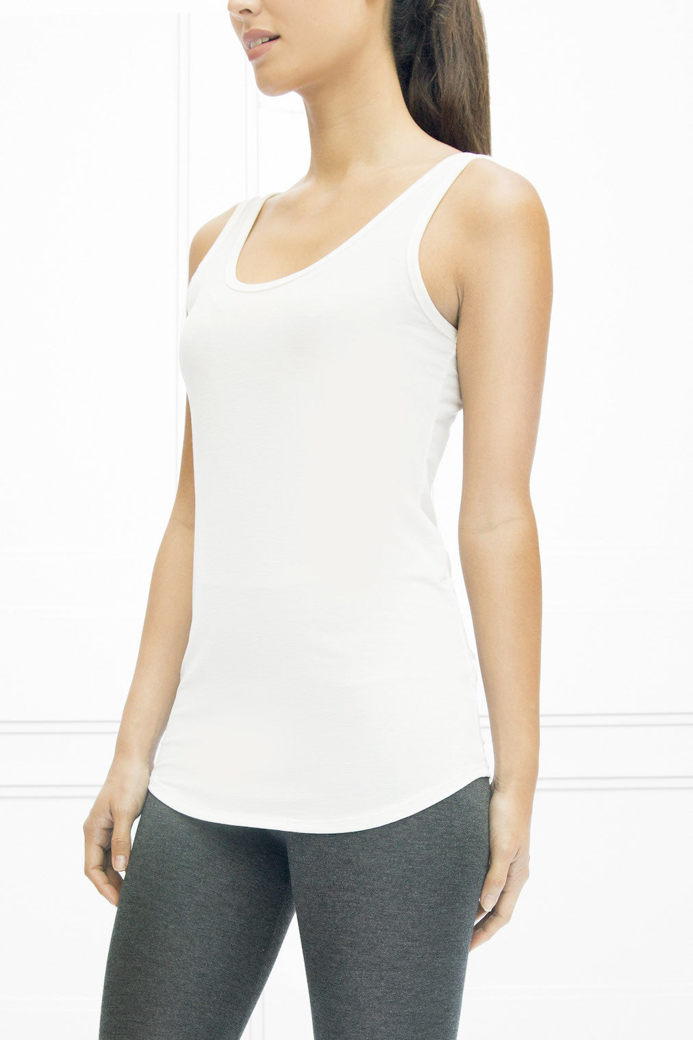 31736443bc90f Luxe Renvi Reversible Tank - Crepe - State   Manor