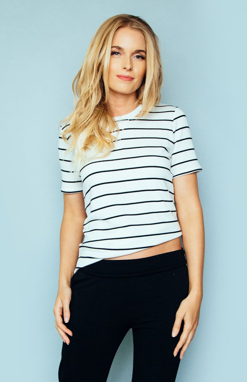 STEVIE STRIPED TEE