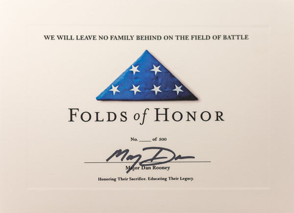 Folds Of Honor American Flag