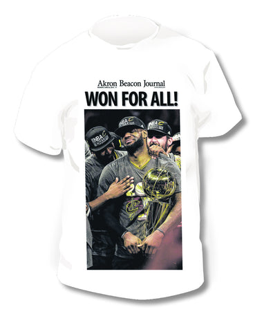 Cavaliers Front Page T-Shirt