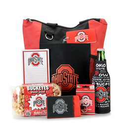 End Zone Party Tote  (OSU theme)