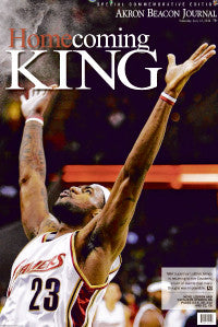 Lebron James Front Page Poster