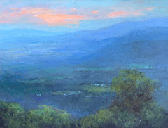 The Blue Ridge Mountains After the Sunset