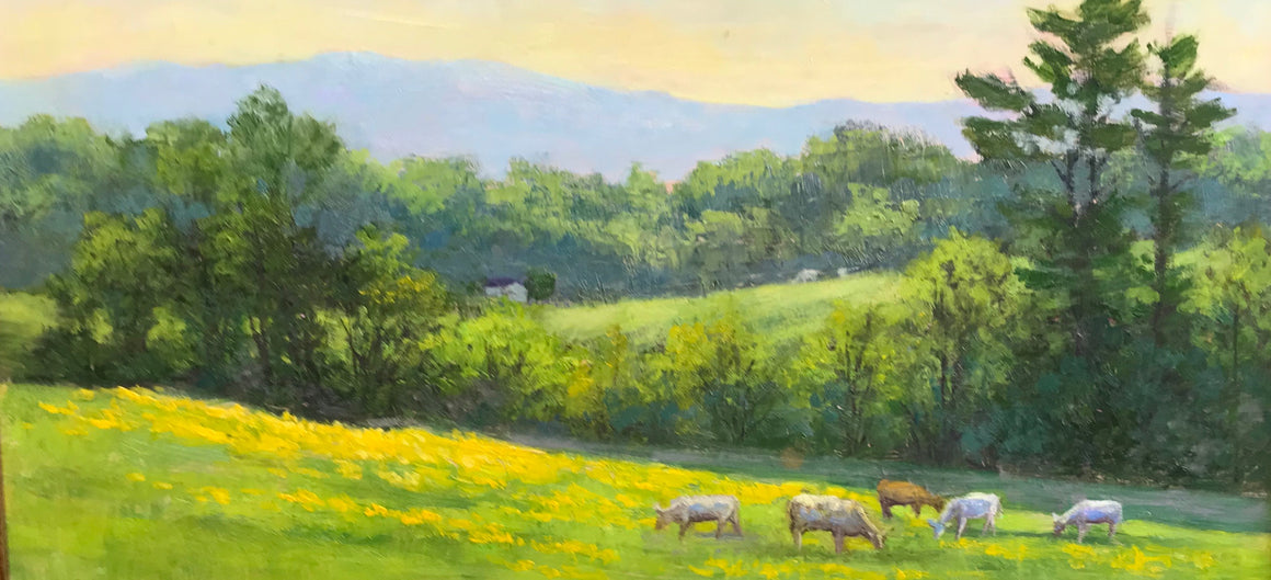 Landscape with Cows Crozet