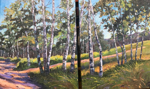 Mountain Path Diptych (2 -20x24)
