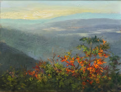 The Blue Ridge Mountains in Early October
