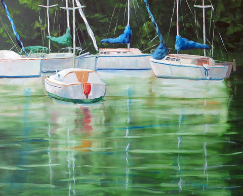 White Boats, Green Water