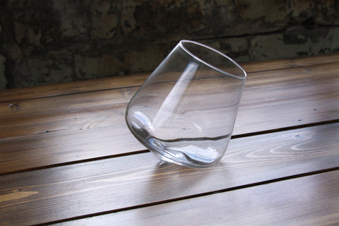 Single Revolving Wine Glass