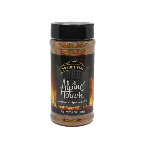 Alpine Touch Prairie Fire Rub 8oz