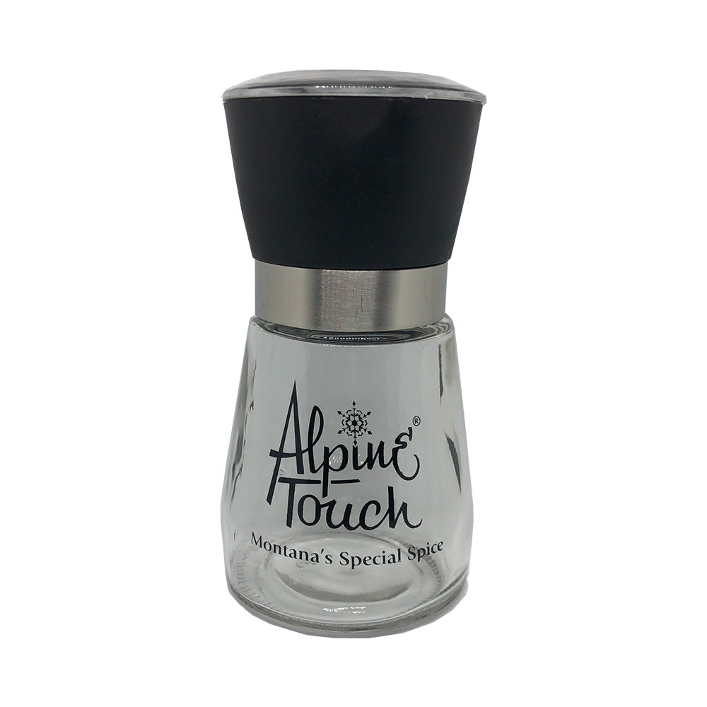 Alpine Touch Glass Salt & Pepper Grinder