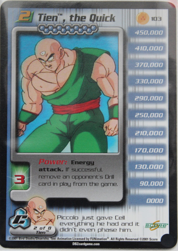 103 Tien the Quick Lv2