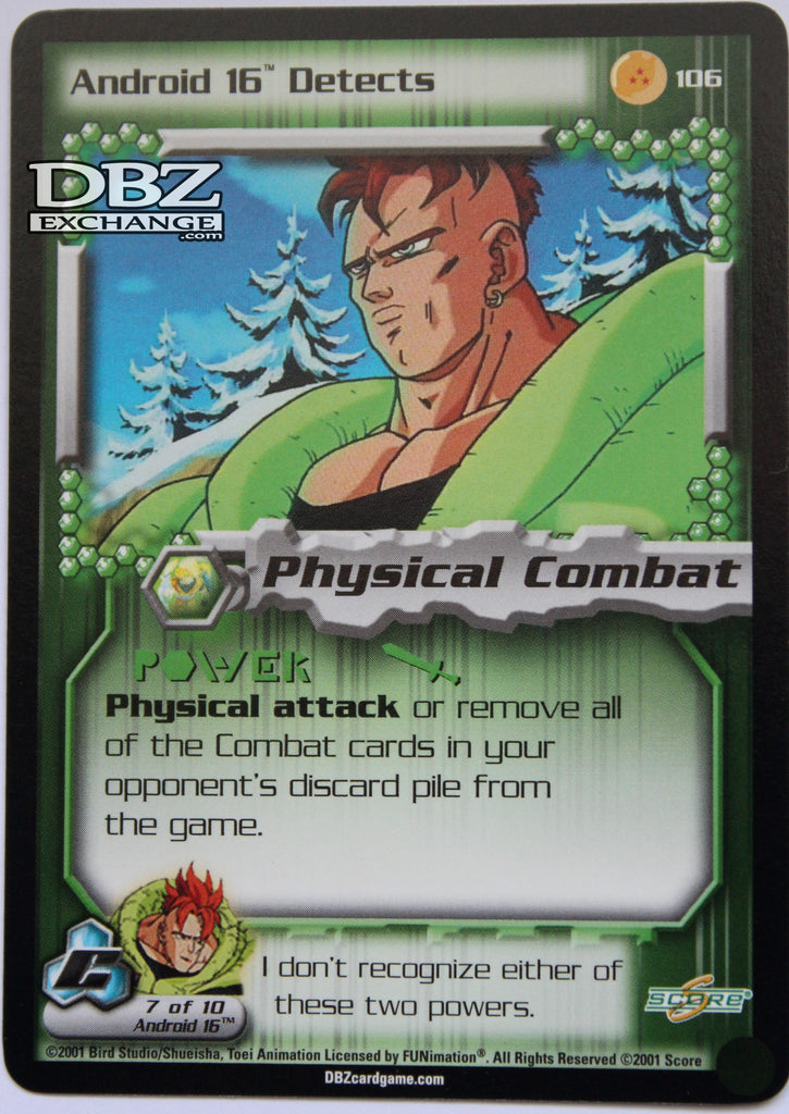 106 Android 16 Detects