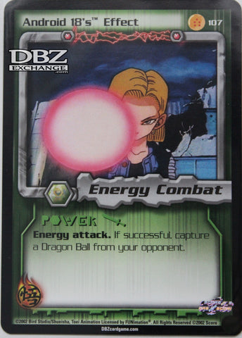 107 Android 18's Effect