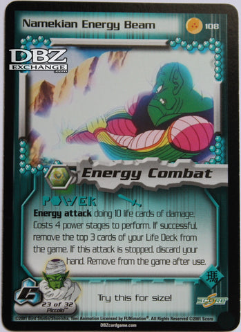 108 Namekian Energy Beam