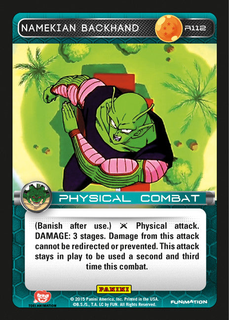 R112 Namekian Backhand