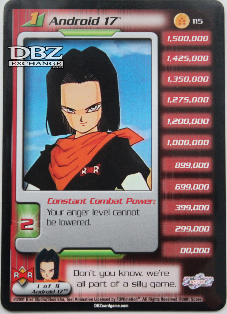 115 Android 17 Lv1