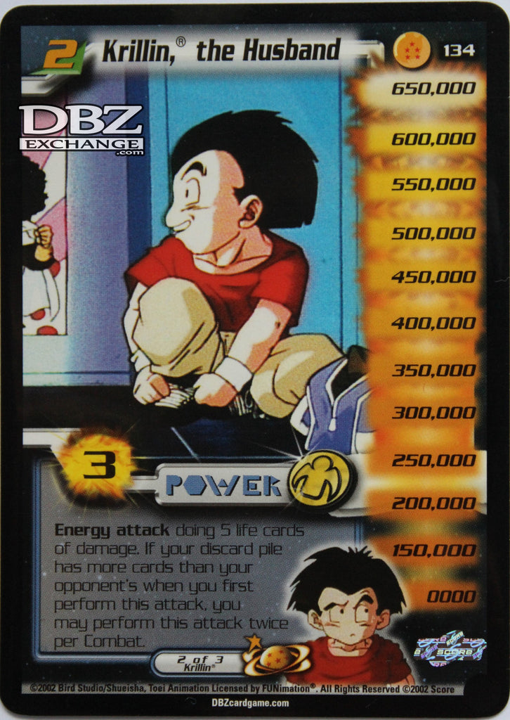 134 Krillin the Husband Lv2
