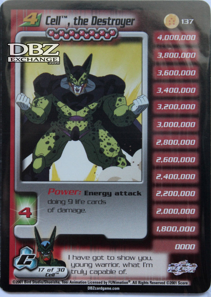 137 Cell the Destroyer Lv4