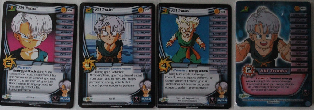 Kid Trunks - Buu Saga MP Set