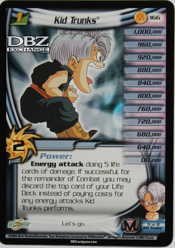 166 Kid Trunks Lv1 - Alernate