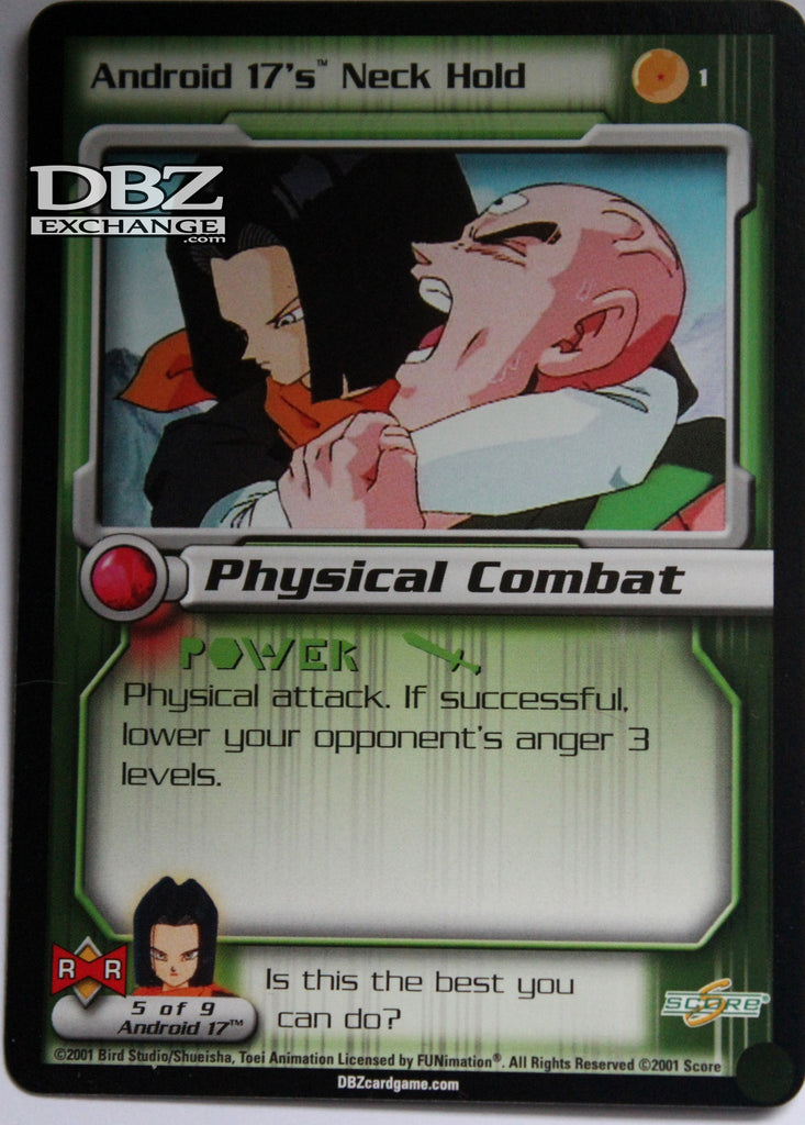1 Android 17's Neck Hold