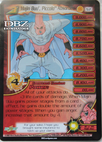 57 Majin Buu Piccolo Absorbed Lv3