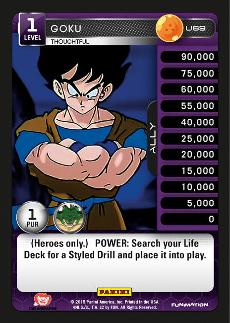 U69 Goku Thoughtful Lv1