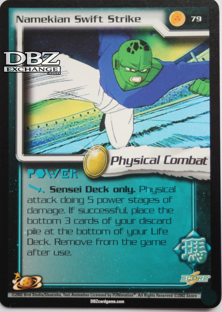 79 Namekian Swift Strike