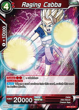 BT1-013 Raging Cabba