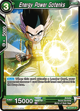 BT1-071 Energy Power Gotenks