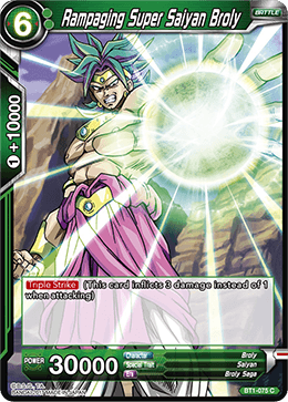 BT1-075 Rampaging Super Saiyan Broly