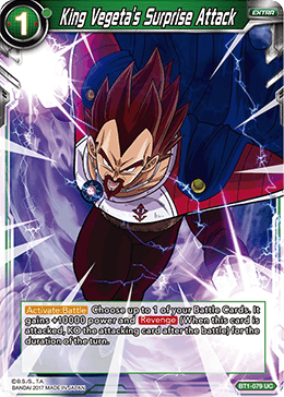 BT1-079 King Vegeta's Surprise Attack