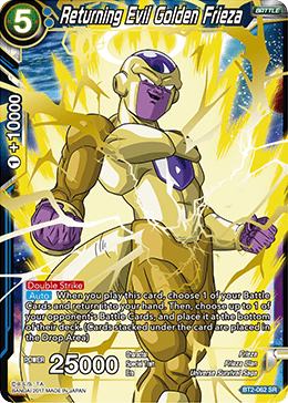 BT2-062 Returning Evil Golden Frieza