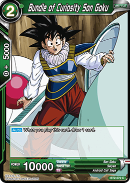 BT2-072 Bundle of Curiosity Son Goku