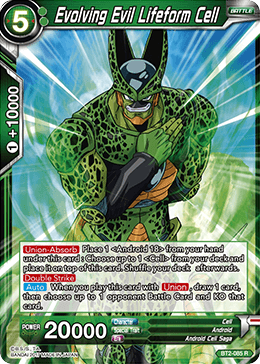 BT2-085 Evolving Evil Lifeform Cell