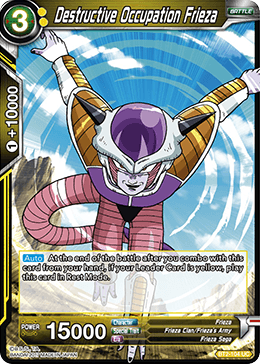 BT2-104 Destructive Occupation Frieza