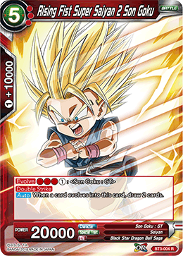 BT3-004 Rising Fist Super Saiyan 2 Son Goku