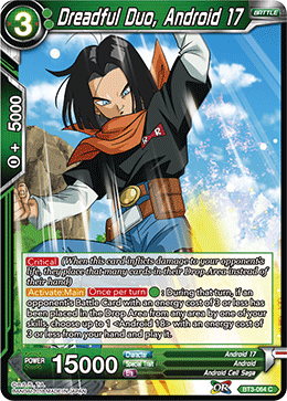 BT3-064 Dreadful Duo, Android 17