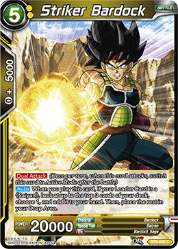BT3-086 Striker Bardock