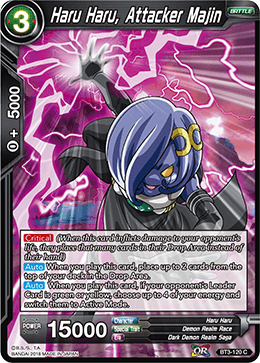 BT3-120 Haru Haru, Attacker Majin