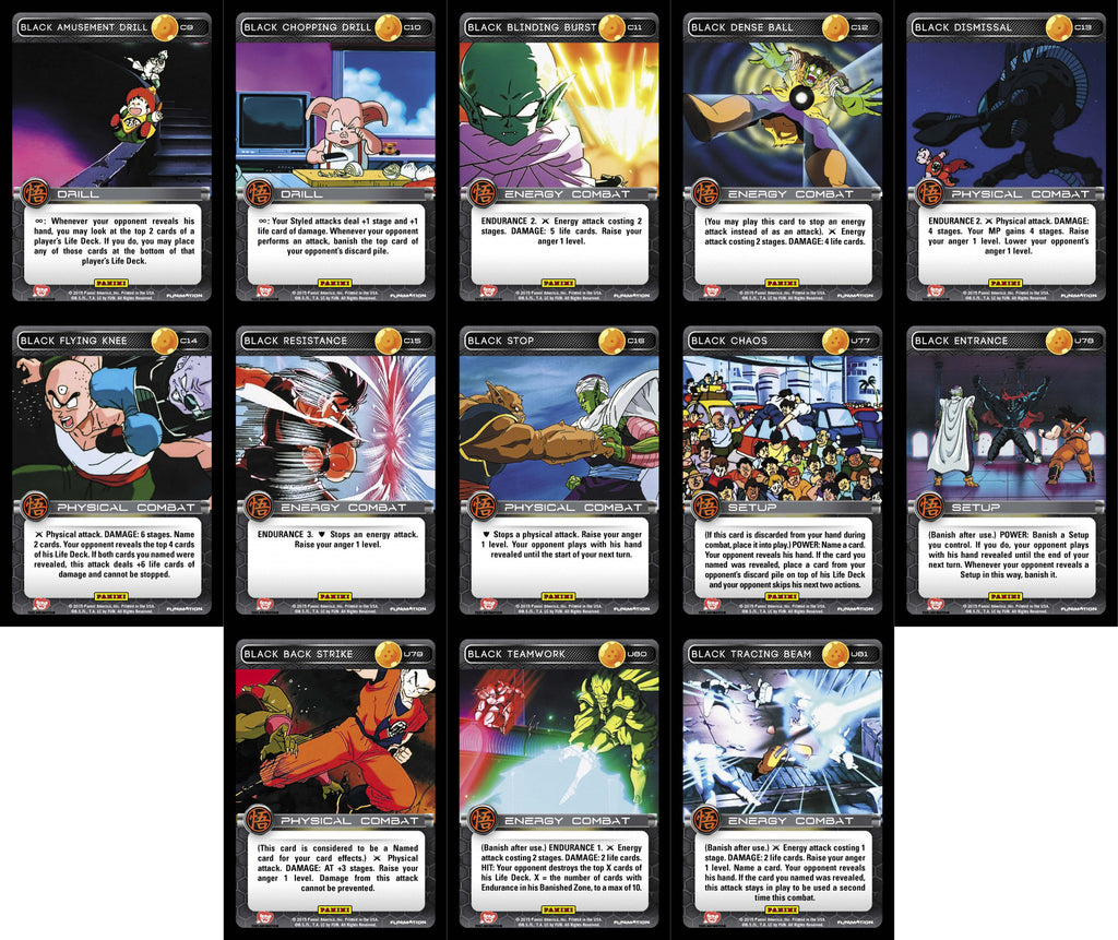 Black Booster Playset - Movie Collection
