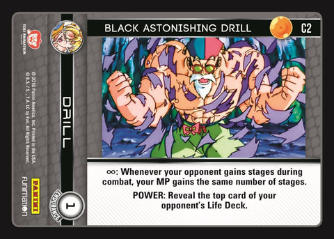 C2 Black Astonishing Drill