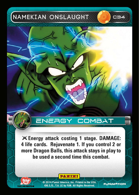 C34 Namekian Onslaught